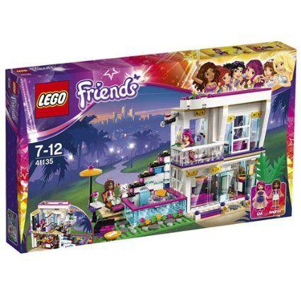 Jouet LEGO Friends - La Maison De La Pop Star Livi, Jouet pas cher Amazon