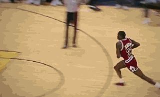 Crazy, right? Nope. It's reality. It's amazing. It's Michael Jordan.