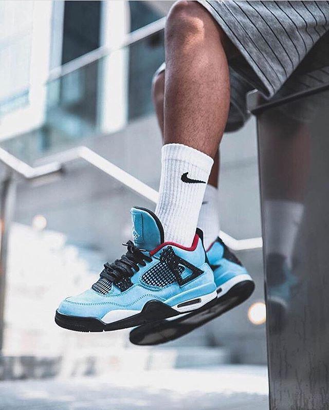 złapać kupić tani Nike Air Jordan 4 x Travis Scott Cactus #nike #airjordan ...