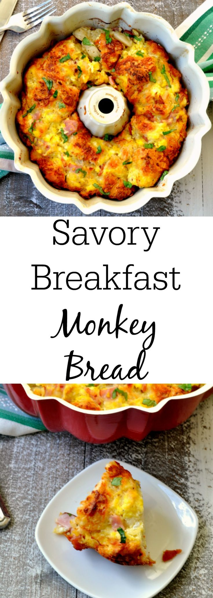 Savory Breakfast Monkey Bread