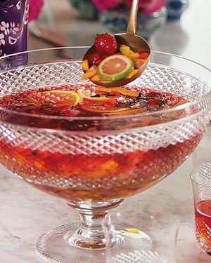 Ponche de chá de hibiscus (Foto: Cacá Bratke/Casa e Comida)