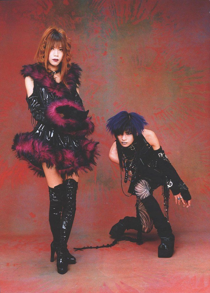 Dir en grey: Shinya & Toshiya
