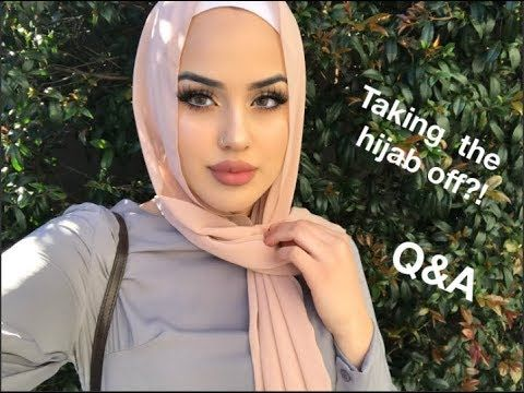 HIJAB STORY Q&A + Hijab Tutorial | Forced To Wear The Hijab? | Sabrine Maghnie - YouTube