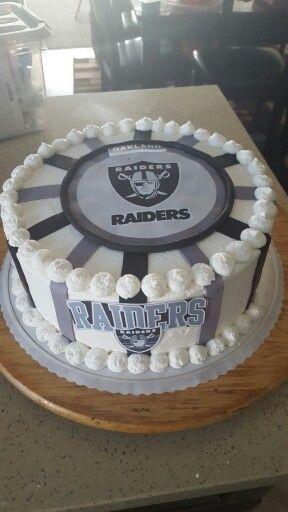 1000+ ideas about Raiders Cake on Pinterest Miami ...