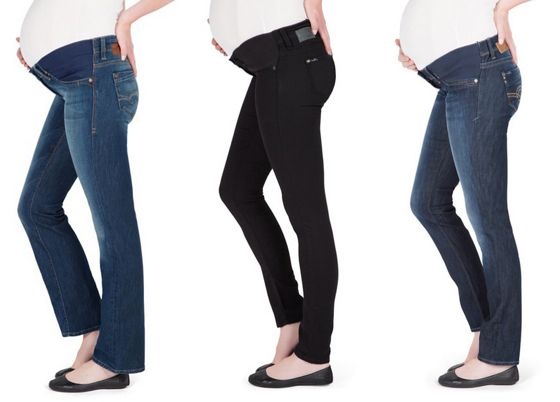Mavi maternity jeans as worn by Nina Proudman on Offspring