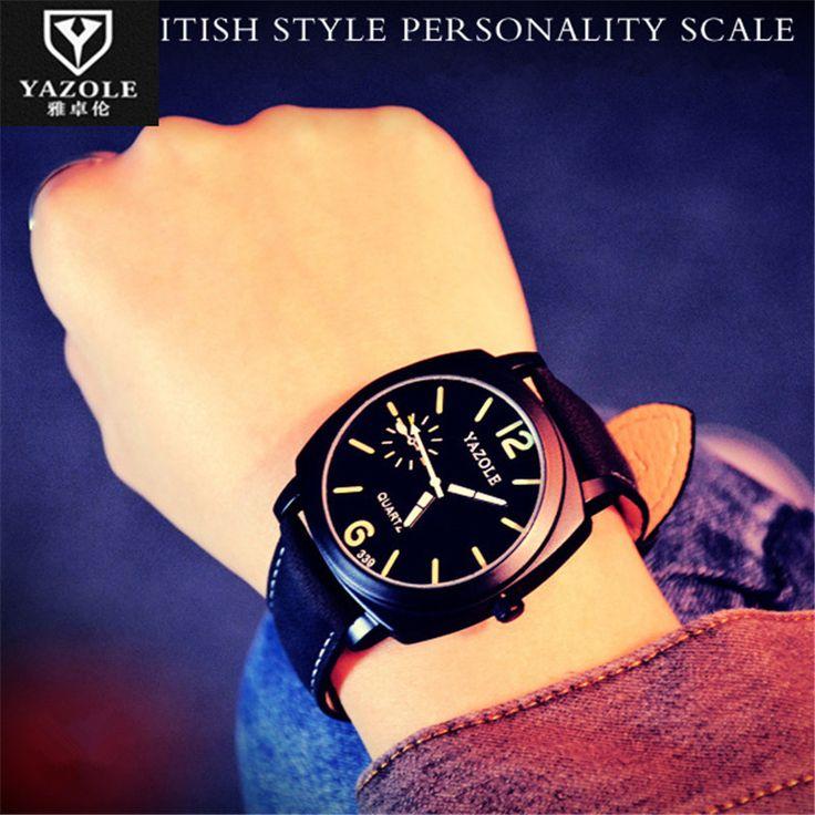 $5.00 (Buy here: https://alitems.com/g/1e8d114494ebda23ff8b16525dc3e8/?i=5&ulp=https%3A%2F%2Fwww.aliexpress.com%2Fitem%2FRelogio-Masculino-YAZOLE-Business-Watches-Men-2016-Fashion-Kol-Saati-Men-Casual-Wristwatch-Relogio-Masculino-Orologio%2F32748449212.html ) Relogio Masculino YAZOLE Business Watches Men 2016 Fashion Kol Saati Men Casual Wristwatch Relogio Masculino Orologio Uomo E67 for just $5.00