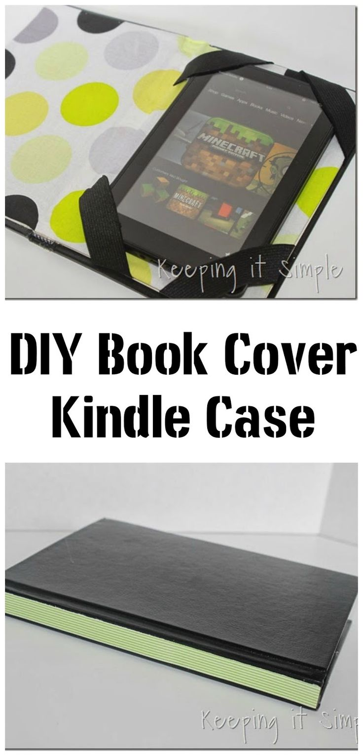 DIY Book Cover Kindle Case | My creations | Pinterest ...