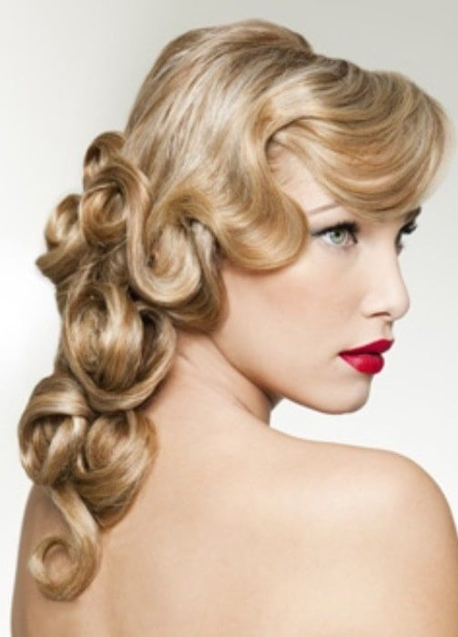 21 Fabulous Finger Wave Hairstyles for Long Hair – HairstyleCamp