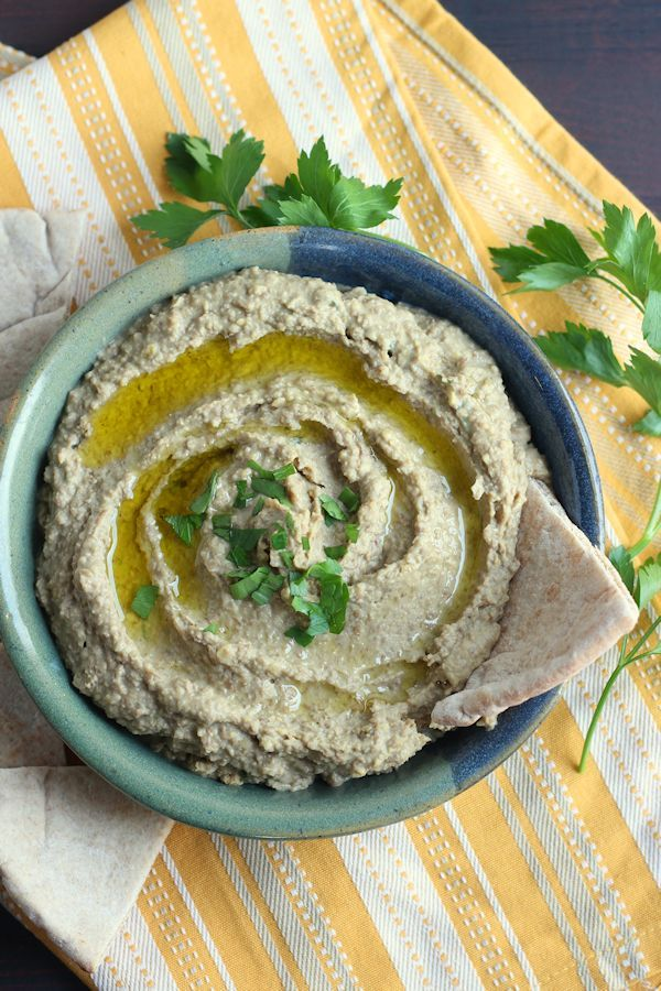 No chickpeas? No problem! You'll fall in love with the savory flavor of this green lentil hummus.