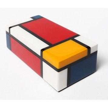 Boîte à crayons Mondrian