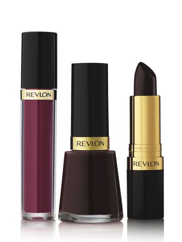 """Revlon Berry Allure Collection """"If you hadn't noticed, deep berry shades are having a moment, which is why you might want to get your hands on this little trio of joy! The black cherry lipstick gives a seriously vampy pout (go on, don't be shy!), which can be layered with the tinted gloss to sex it up even more. With these three products, you're guaranteed to have a berry merry (and glam) Christmas."""""""