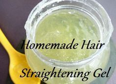 Homemade hair straightening gel is an easy and cost-free way to get straight…