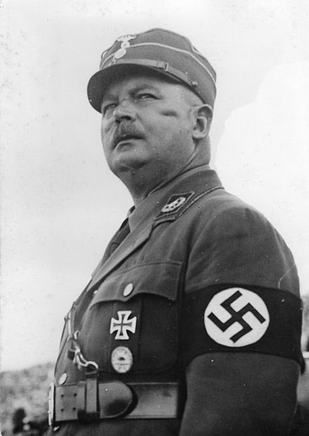 """Ernst Julius Günther Röhm (November 28 1887 – July 2 1934) was a German officer in the Bavarian Army and later an early Nazi leader. He was a co-founder of the Sturmabteilung (""""Storm Battalion""""; SA),[1] the Nazi Party militia, and later was its commander. In 1934, as part of the Night of the Long Knives, he was executed on Hitler's orders as a potential rival."""