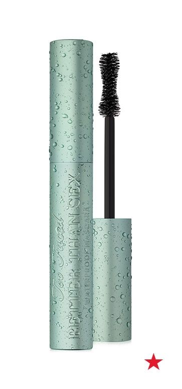 While waterproof mascara is always a summertime staple, this year one of our favorite products has finally gotten a water-resistant upgrade. The super voluminous and lash lengthening Too Faced Better Than Sex mascara now comes in a waterproof version. So, go ahead and cry happy tears... because you can!