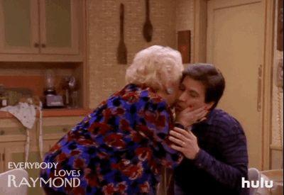 New party member! Tags: tv hulu mom kisses cbs everybody loves raymond ray romano doris roberts hugs and kisses marie barone ray barone mom kiss