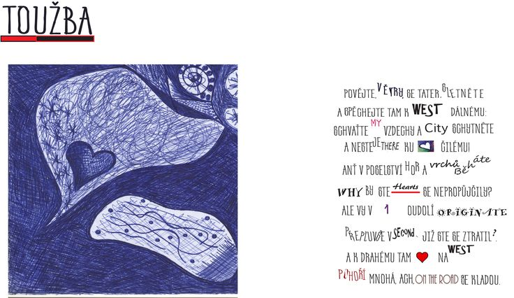 Toužba - the first poem virus from Ľudovít Štúr by Ka