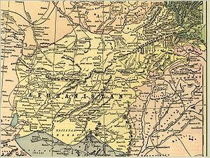 Afghanistan - The Durand Line refers to the 2,640 kilometers (1,640 mi) long porous border between Pakistan and Afghanistan. It was established after an 1893 agreement between Mortimer Durand of British India and Afghan Amir Abdur Rahman Khan for fixing the limit of their respective spheres of influence.