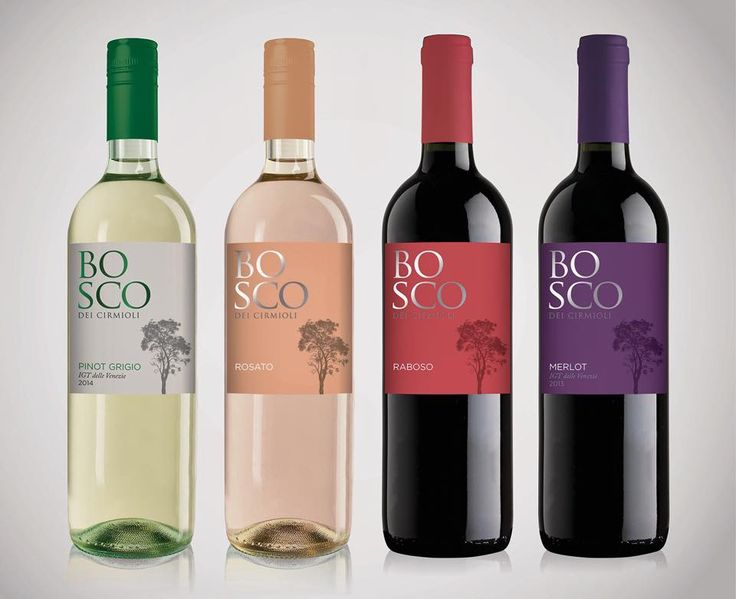 New rebranding and #labeling project for Bosco dei Cirmioli #winery. By #HangarDesignGroup.