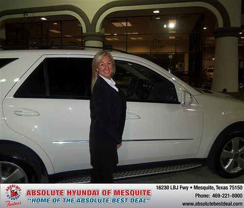 Happy Anniversary to Kerin Sims on your 2009 #Mercedes #Ml320 from Gregory Sikes  and everyone at Absolute Hyundai! #Anniversary