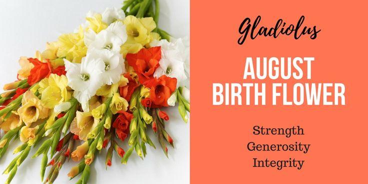 August Birth Flower