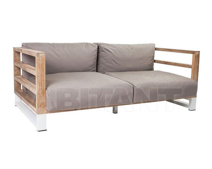Диван для террасы Aspen темно-серый Stern 425971 , мебель для террасы и сада: фото, заказ на ABITANT , Москва
