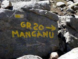 GR20 - Corsica hiking trail