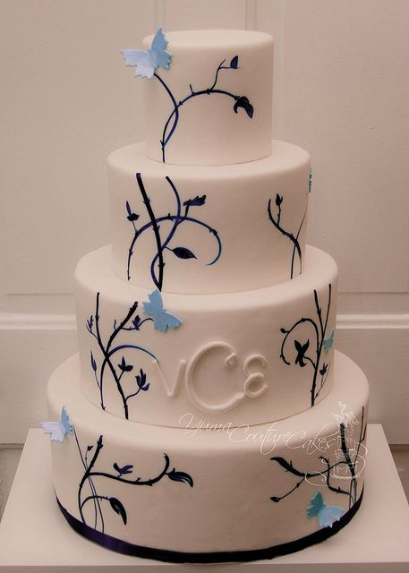 391 best butterfly weddings images on pinterest butterflies weddings yuma arizona by yuma couture cakes via flickr junglespirit Gallery