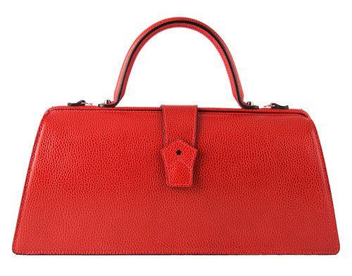 Red Bag by Hester Van Eeghen via design-milk #Handbag #Hester_Van_Eeghen #design_milk