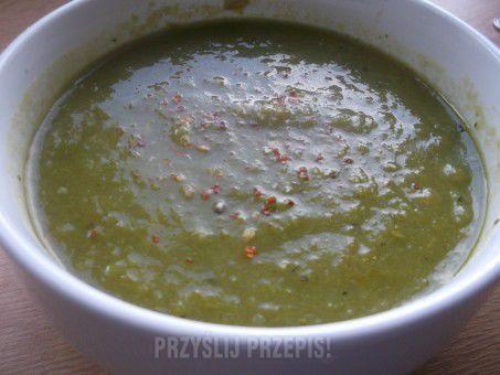 Zupa+-+krem+z+zielonych+szparagów