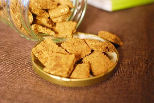 生姜の効いたチャイ風クッキー : ベジタリアンミットゥンと肉食チャースケ