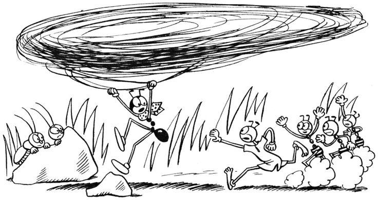 Ferda Mravenec v cizích službách - první vydání (r.1937)