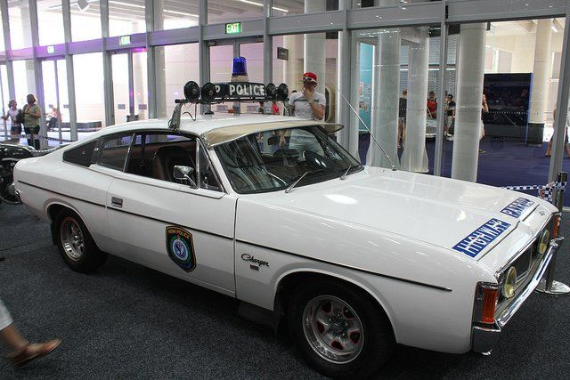The classic Valiant Charger Highway Patrol Car!