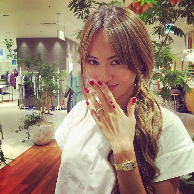 ルビーの素敵な指輪❤️ 私はアーユルヴェーダ的に、赤の石を身に付けるといいと蓮村先生に言われたので、これでドーシャを整えたいと思います!✨✨ #アーユルヴェーダ #マイラン #MYLAN  #新宿伊勢丹 #ポップアップショップ  #期間限定