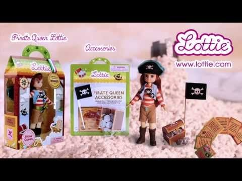 ▶ Pirate Queen Lottie Doll - YouTube