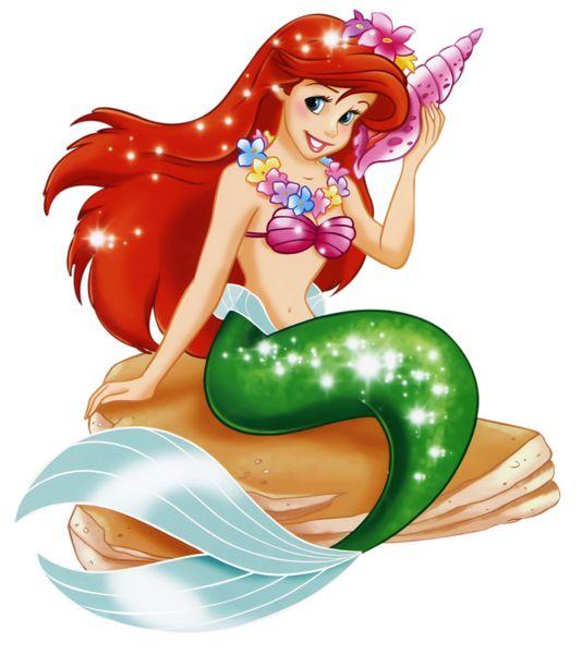 Arielle Mermaid Princess PNG Clipart
