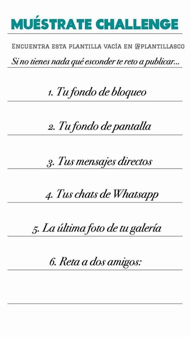 Plantillas Encuestas Whatsapp Instastory Instagram