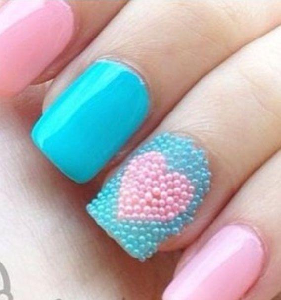 Uñas caviar, estilo y texturas en tus uñas #caviarnails | Decoración de Uñas - Manicura y NailArt
