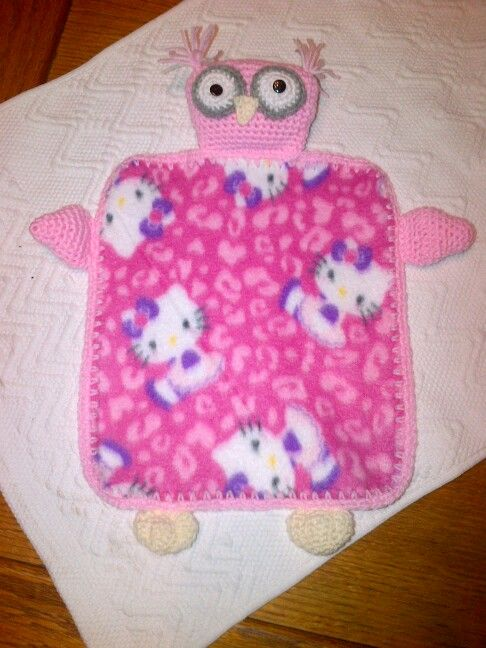 Lovey blankie I made for my little girl