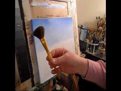 Acrylic Painting Tips and Techniques: Brush Techniques