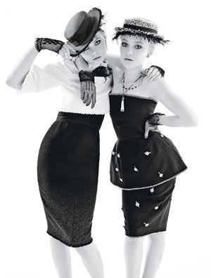 the fanning sisters for W
