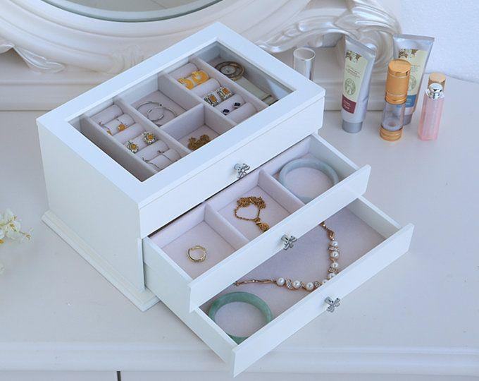 Jewelry Organizer Velvet Tray Jewelry Stand Jewelry Display Etsy Jewelry Drawer Jewelry Organization Jewelry Organizer Box