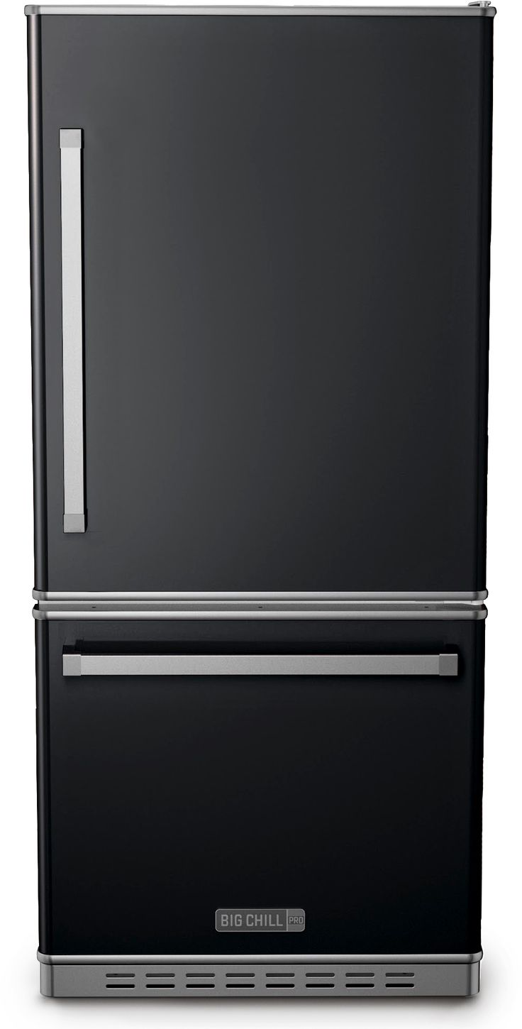 Big Chill - Pro Fridge - Matte Black