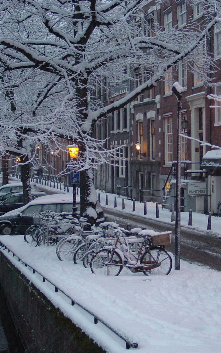 Winter in Amsterda
