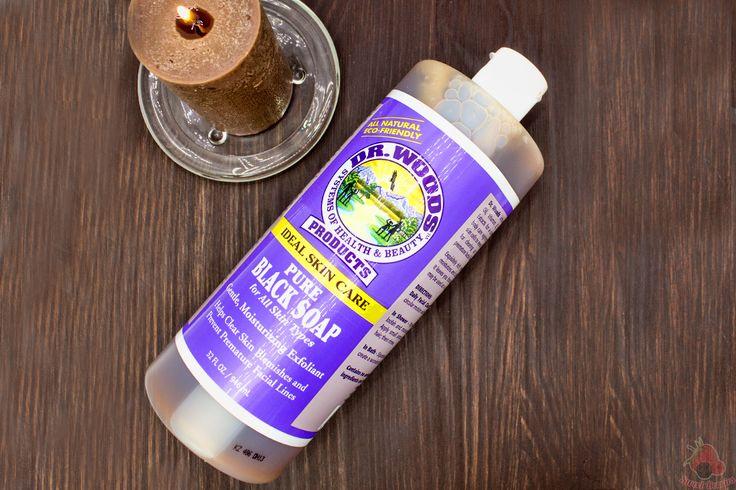 Натуральное черное мыло Dr. Woods. IHerb