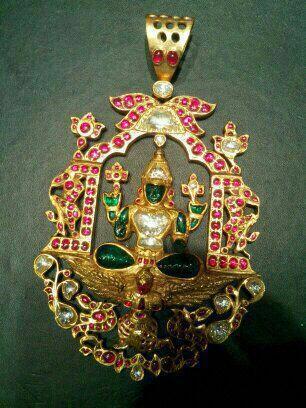 Venkateshwar temple pendent