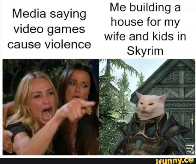Pin Em Funny Elder Scrolls Memes
