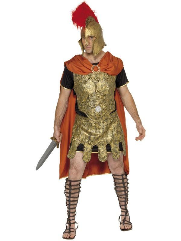 Roman Soldier Tunic Costume | Frojos.co.uk