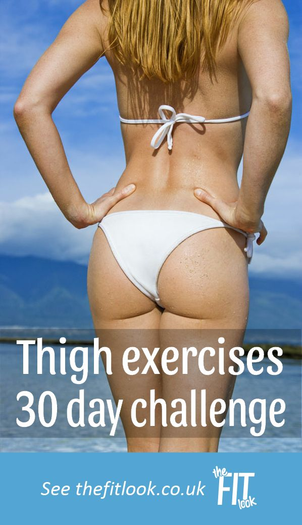 Thigh exercises 30 day fitness challenge – My Fitness Planner