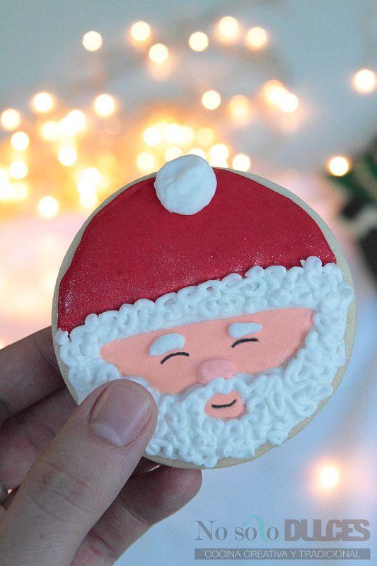 No solo dulces - Galletas de mantequilla de navidad - Christmas decorated cookies