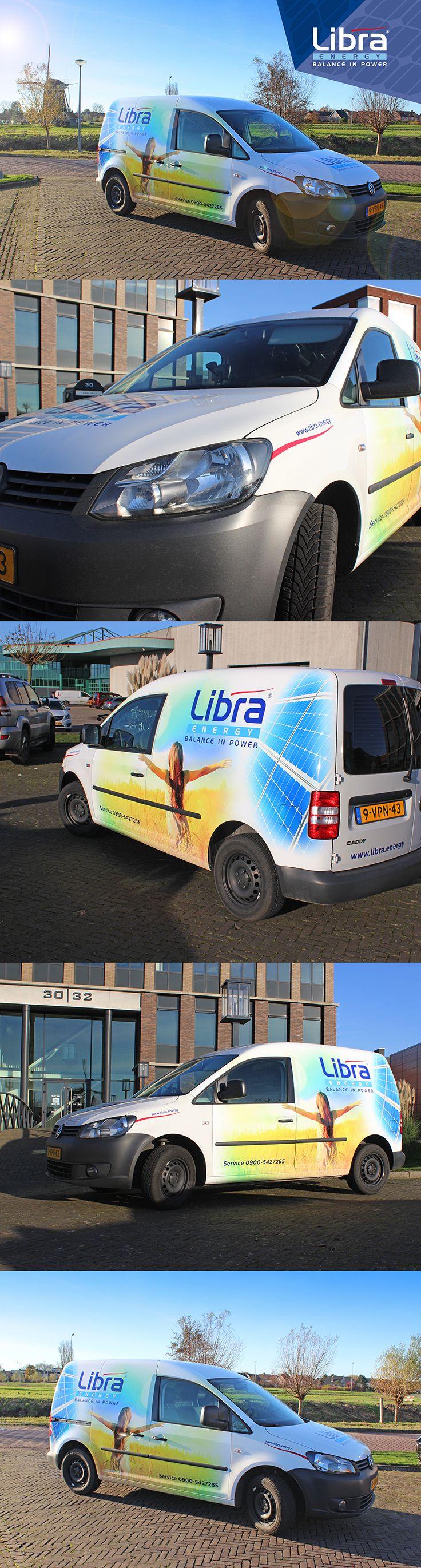 Belettering Design voor Libra Energy